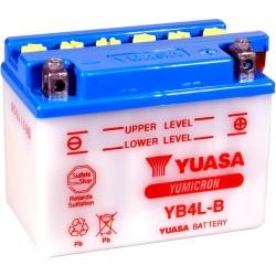 BATERIA YUASA YB4L-B CON ACIDO