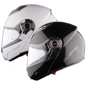 CASCO MODULAR LS2 FF370 EASY NEGRO BRILLO