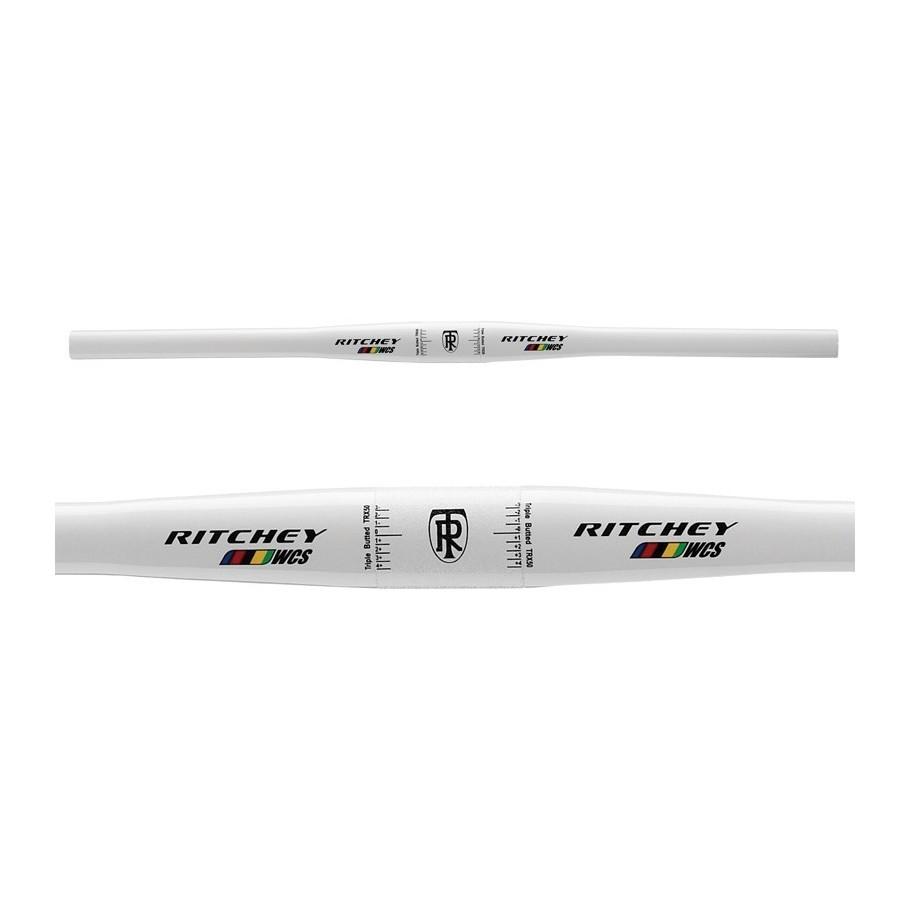MANILLAR BICI MTB RITCHEY FLAT WCS 5 BLANCO 31,8/5º/580mm